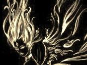 goddess in fire