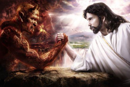 Satan-vs-Jesus